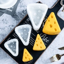 Cheese Shape Silicone Mold Mousse Cake Moulds Chocolate Fondant Dessert Pastry Baking Decorating Tools Bakeware cake tools hallowe shape silicone chocolate mold for cake decorating fondant mould baking tools resin form kitchen cake tools bakeware