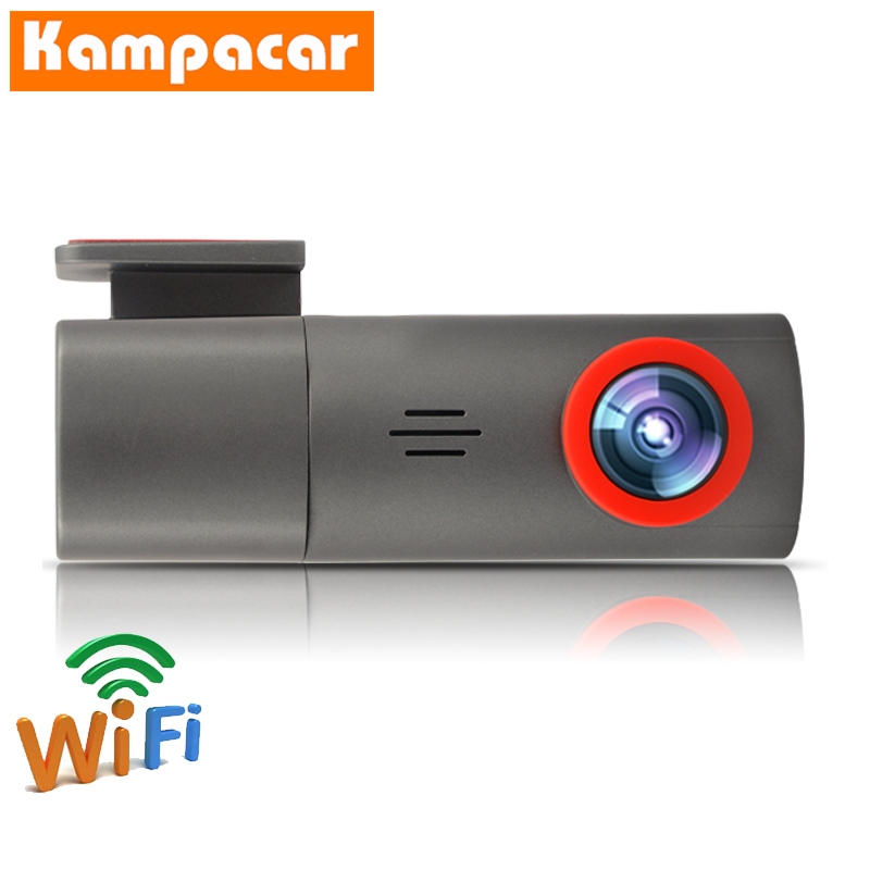 Kampacar Wifi <font><b>Car</b></font> <font><b>DVR</b></font> Dash <font><b>Cameras</b></font> <font><b>With</b></font> <font><b>Two</b></font> Lens <font><b>Car</b></font> Camera Sony IMX323 360 Degree Rotate Dash Cam Novatek 96658 Video Recorder image