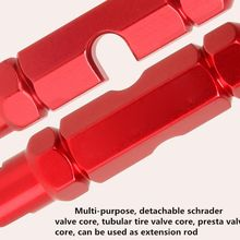 Wrench Valve Core Disassembly Tool MTB Road Bike Bicycle Schrader Presta Valve Core Removal Tool Wrench Screwdriver bike no tubes tubeless presta aluminum valves 1 pair with valve core tool for schrader presta valve extender mtb road bike