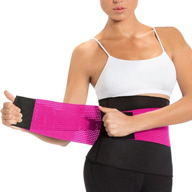 Women 2pcs Seamless Yoga Set Gym Clothing Fitness sweat sauna slimming belt Sport Suit Women Waist Support running Active belts 2