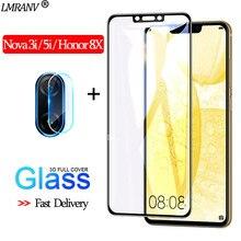 2-in-1 Camera Glass for Huawei Nova-3-i 3D Protective nova 5i Screen Protector honor 8x Tempered huawei 3i
