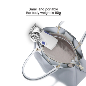 Image 5 - Mini Handheld Draagbare Mesh Vernevelaar Stille Ultrasone Medische Stomen Inhalator Volwassen Kids Oplaadbare Luchtbevochtiger Kind Volwassen