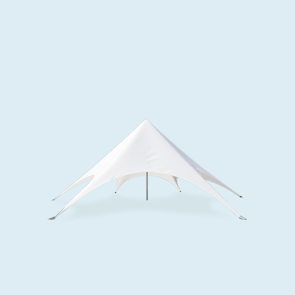 8m diameter Trade Show Single Top Star PVC and Aluminum Tension Tent for Outdoor coffee store Display Gathering Party Event
