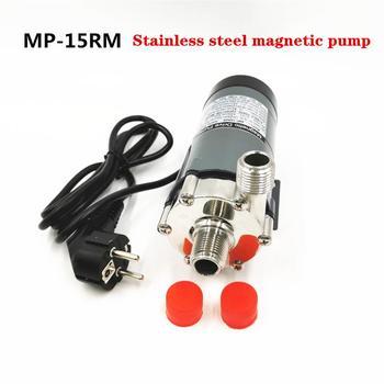 10W Homebrew Pump 220V Stainless steel Magnetic Drive Circulating pump MP-15RM Medical beauty electroplating Food Grade pump mp 30r 110v 220v 16l min plastic acid resistance magnetic pump
