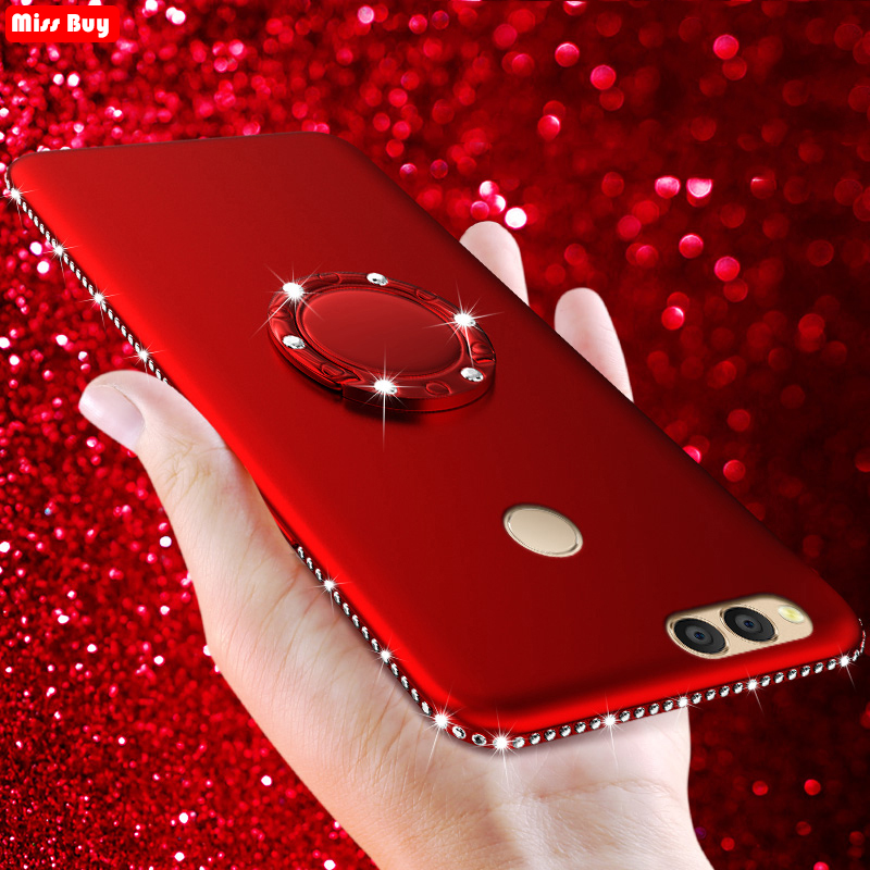 Bling Diamond Case For <font><b>huawei</b></font> <font><b>Honor</b></font> <font><b>8X</b></font> Max 7X 5X 6X 8C P30 Pro P Smart Y9 Nova 3 3i 4 View 20 10 P20 Lite Silicone Soft Cover image