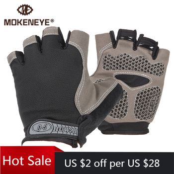 Cycling Men Women Half Finger Gloves Silicone Breathable Sports Gloves Anti-slip Bike GEL Glove Shockproof MTB Bicycle Gloves rockbros cycling bike half finger gloves shockproof breathable mtb mountain bicycle gloves men women sports cycling clothings
