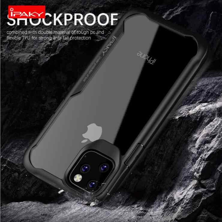 Ốp Ipaky 2019 Mới Ốp Lưng Điện Thoại Iphone 11 Pro Max 5.8 & 6.1 & 6.5 Inch Coque Sang Trọng Đầy Đủ Pretection ốp Lưng Cho Apple iPhone