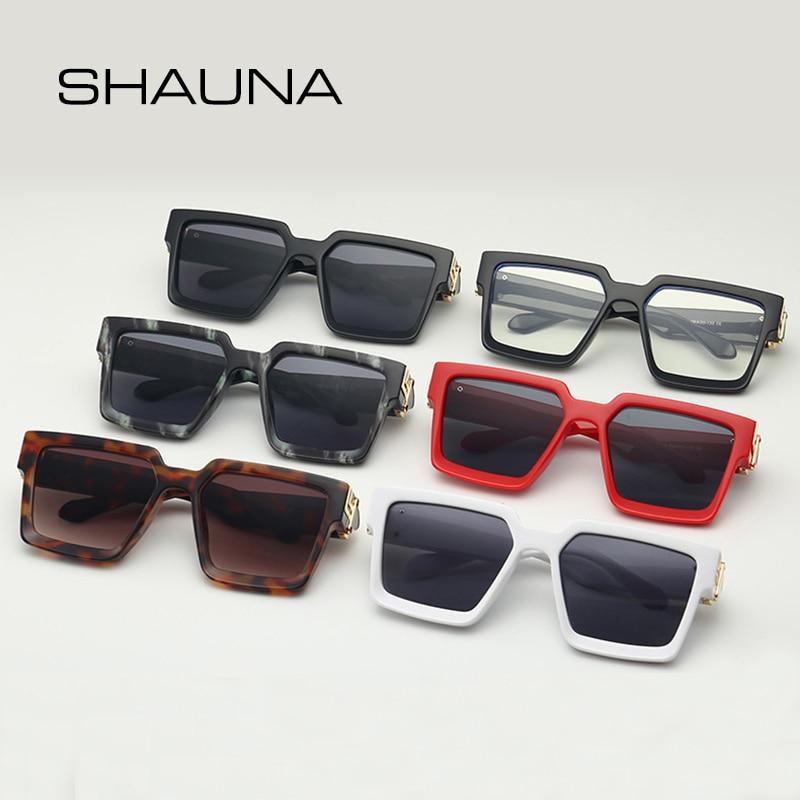 Retro Square Sunglasses Women Ins Popular Sun Glasses Men UV400 3