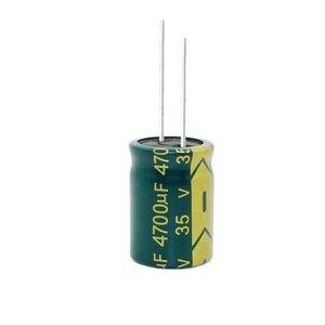 Image 3 - 35В 4700 мкФ 4700 мкФ 35В электролитические конденсаторы размером: 18*25 мм лучшее качество New origina