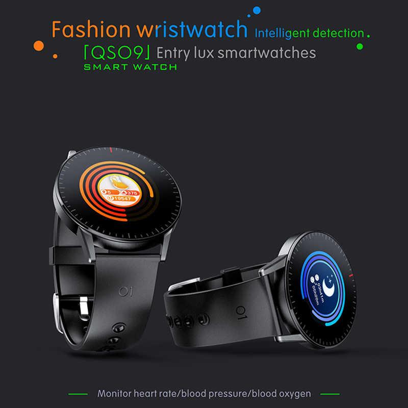 KaiHai สมาร์ทนาฬิกา Android นาฬิกา smartwatch Heart Rate Monitor สุขภาพ Tracker นาฬิกาจับเวลาควบคุมเพลงสำหรับโทรศัพท์ iPhone