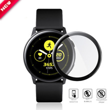 Full-Screen-Protector Active2-Cover Samsung Protective-Film Watch Glass Galaxy for Curved-Fibre