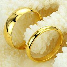 Роскошные золотые кольца для женщин нержавеющая сталь обручальное