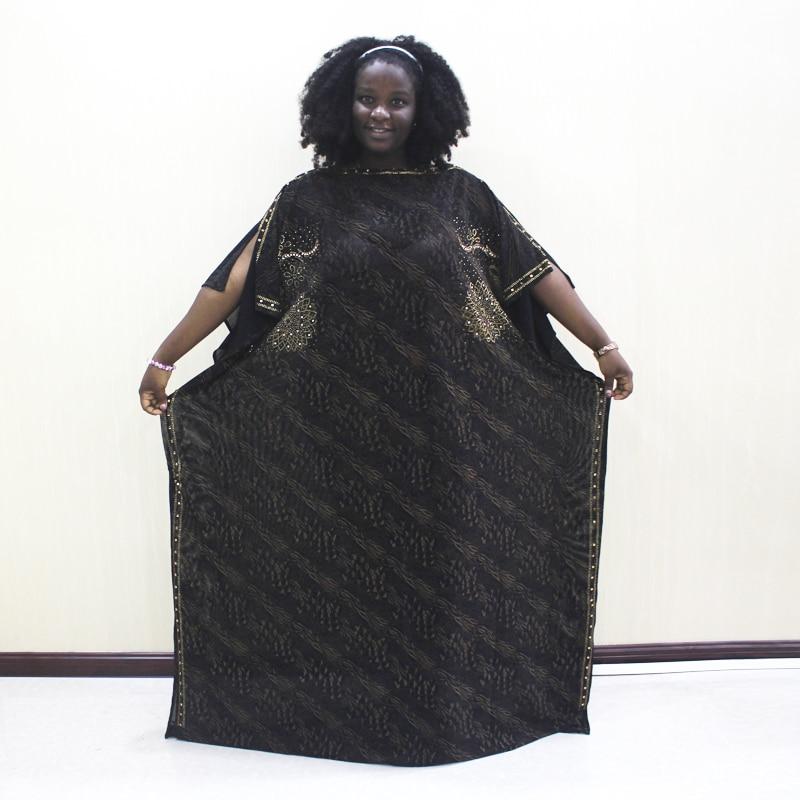Dashikiage Diamonds Gold Crocodile Pattern Print African Dashiki Elegant Party Dresses Plus Size