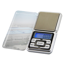 Mini Electronic LCD Digital Jewelry Scale 100/200/300/500g 0.01/0.1g High Accuracy Backlight Pocket Weight For Kitchen