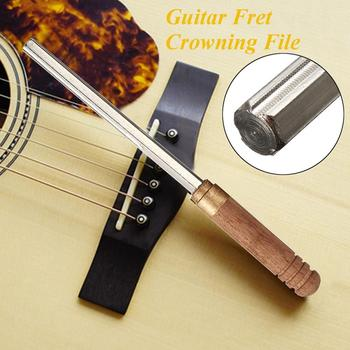 Guitar Fret Tools Crowning File Fret Dressing File with 3 Size Edges Luthier Tools for Guitar Polishing Tools Guitar Parts 2020 13 sizes guitar nut slotting file saw rods slot filing set luthier replacement guitar accessories