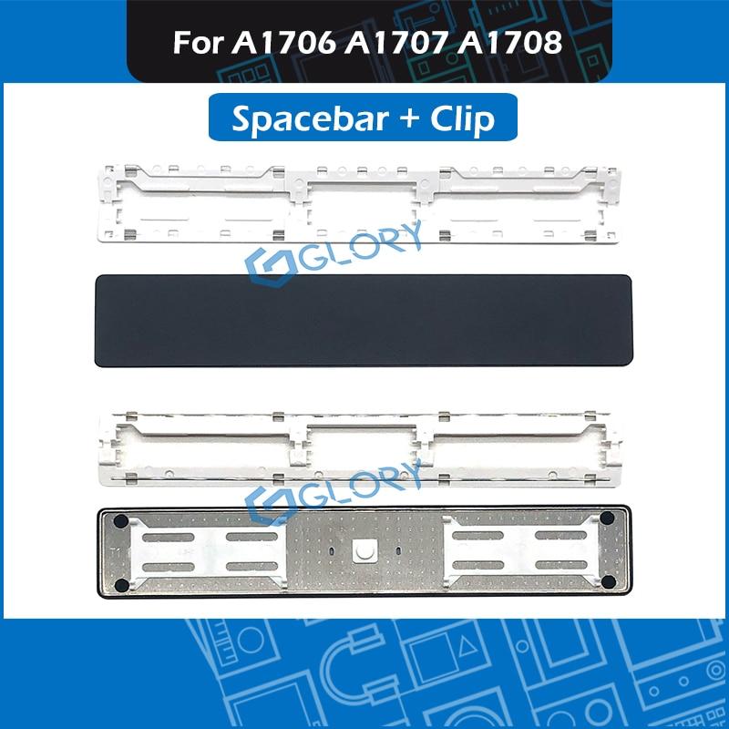 10set/Lot Space Bar Key Cap Keys Keycap W/ Clip For Macbook Pro Retina 13