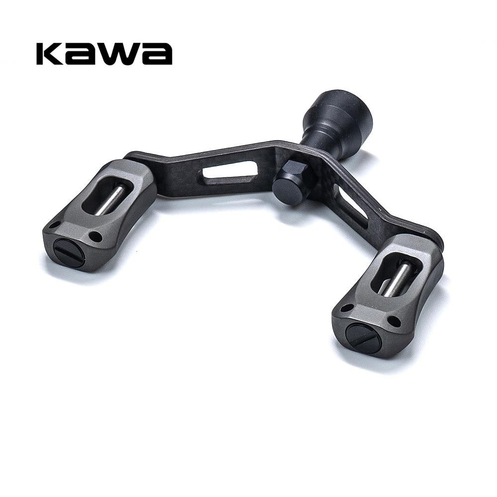 kawa novo carretel de pesca lidar com alca dupla com botao liga aluminio terno para daiwa