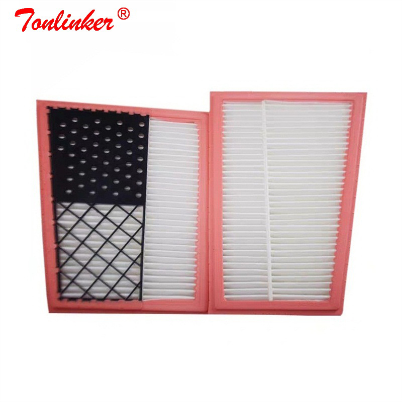Car Air Filter A6420940404 2 Pcs For <font><b>Mercedes</b></font> <font><b>W203</b></font> W204 S203 S204 C209 W211 S211 W463 X164 W164 X204 W251 V251 W221 Model Filter image