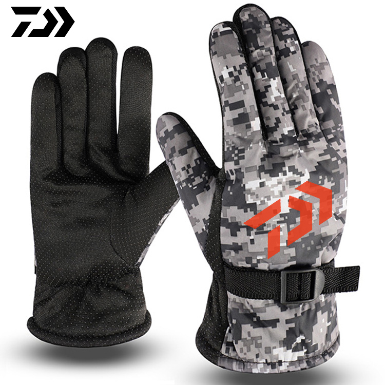 <font><b>Daiwa</b></font> High Quality Winter <font><b>Fishing</b></font> <font><b>Gloves</b></font> Full Fingers Outdoor Sport <font><b>DAIWA</b></font> <font><b>Fishing</b></font> Clothes Waterproof DAWA <font><b>Fishing</b></font> Clothing image