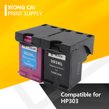2 cor para HP 303 para hp 303 Cartucho De Tinta Compatível para o HP Envy 6220 6222 6230 6234 6252 6255 7120 7130 7132 7155 Impressoras
