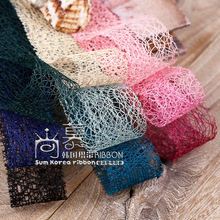 100yards 25mm 38mm mesh ribbon for hair bow diy accessories hand craft supplies bouquet gift flower packing bow supplies цена и фото