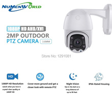 цена HD1080p PTZ Outdoor Indoor Security Camera Surveillance CCTV Dome ABS Camera with 65ft Night Vision for AHD, XVI,TVI,CVI and DVR в интернет-магазинах