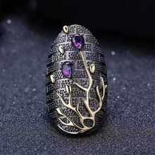 Bague en cristal pour femme, bijou de mariage, design artistique moderne, goutte d'eau, fête exagérée, accessoires BAOSHINA, 2020