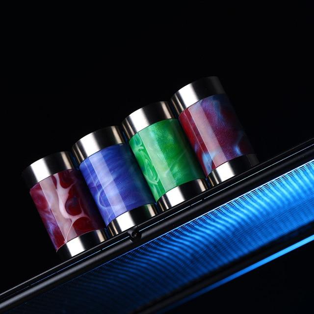 Vapor frío Takit Mini V2 18650 18350 Vape Mod 24mm mecánica Mod resina Material 30W de potencia de salida cigarrillo electrónico