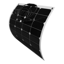 Flexible Solar Panel 50W 12V solar battery charger sunpower monocrystalline solar cell system kit china cheap sale