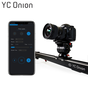 Image 1 - YC ONION Aluminum Motorized Camera Slider App Bluetooth Control Stable Smooth Slider Camera With Motor For Photography DSLR