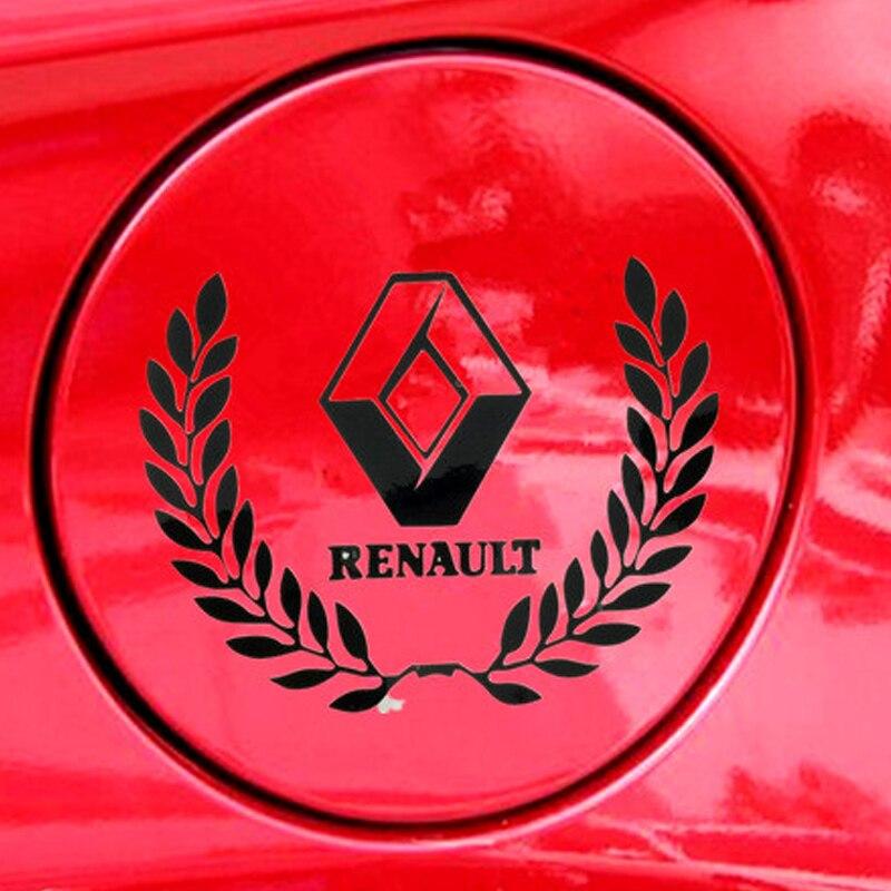 4 pcs White Sports Car Door Handle Sticker Graphics Decal Emblem US Seller