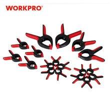 WORKPRO – pinces à ressort robustes en plastique dur, 18 pièces, outils pour le travail du bois, pour arrière-plan de Photo