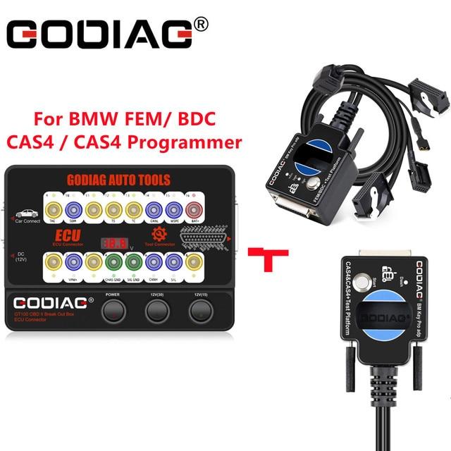 GODIAG GT100 OBD II Break Out กล่องทดสอบแพลตฟอร์มสำหรับ BMW FEM/ BDC/CAS4 / CAS4 + การเขียนโปรแกรม ECU เครื่องมือ