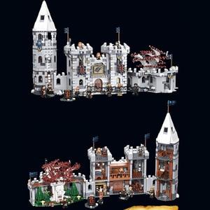 2021 новая игра престолов Winterfell Castle Dragon Black Death Balerion фигурки модель строительные блоки кирпичи игрушки подарки