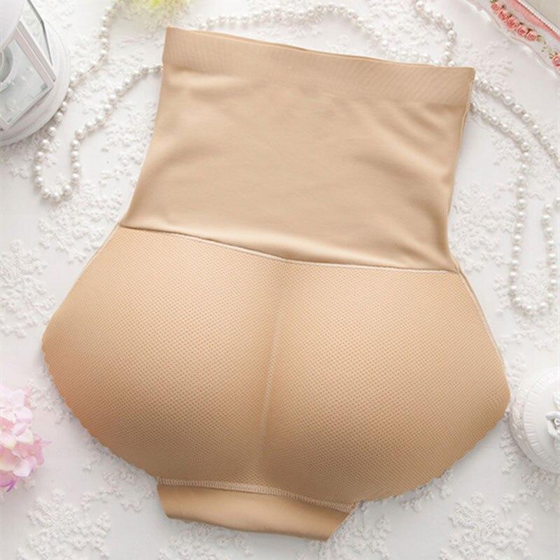 Women Waist Trainer Seamless Body Shaping Boxer Hips Seamless Slimming Tummy Body Shaper Fake Ass Butt Lift Briefs