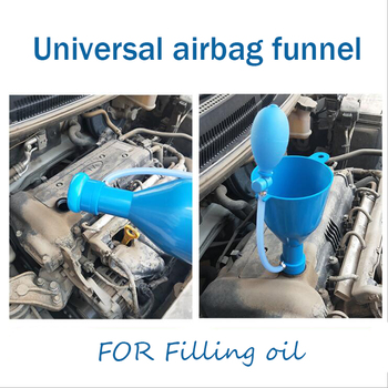 цена на Professional Spill-Free Funnel Kit Engine Oil Transmission Fluid Automobile Engine Oil Filler Refueling Maintenance Equipment