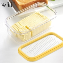 Кухонные инструменты для сыра, масло для резки, свежесть, герметичное прямоугольное хранилище для мороженого, коробка для теста, плоская терка, инструменты для нарезки выпечки