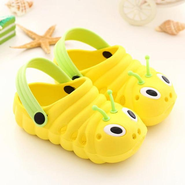 2020 Summer Baby Girl Sandals Beach Slippers Flip Shoes Cute Cartoon Toddler Baby Boy Shoes Waterproof Sandalias сандали детские