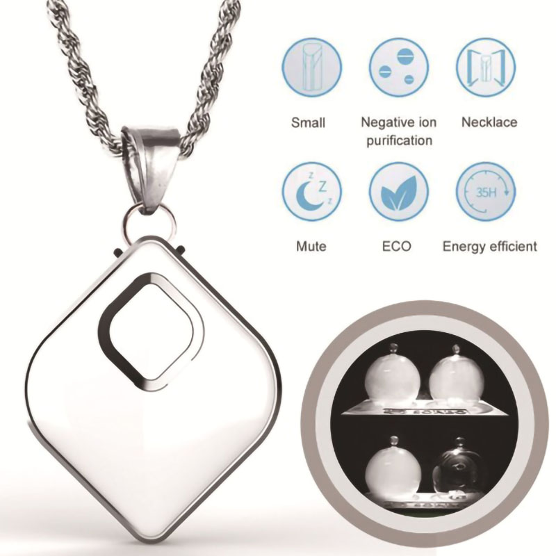 2020 new Air purifier negative ion mini hanging neck portable anti-second-hand smoke anti-fog car home gifts