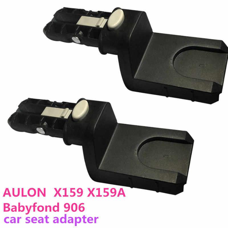 Babyfond 906 Autostoel Adapter Aulon X159 X159A Wandelwagen Medeplichtige In Plaats Fornt Wiel Achterwiel