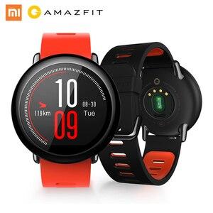 Image 1 - ساعة يد ذكية للركض رياضية أصلية من Huami Amazfit Pace مع نظام تحديد المواقع وبلوتوث 4G/WiFi وأندرويد/iOS مقاومة للماء