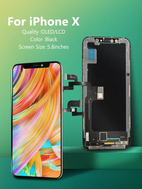 100% New OLED Lcd For iPhone X 11 Display Wholesale Price From Factory Display For iPhone X Xs Xr Screen 100% Test Good 3D Touch 2