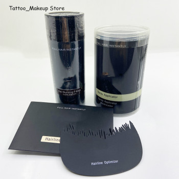 Thick Hair Care Spray Set Protein Fiber Plant Wig Powder, Used to Hide the Scalp, Optimize the Hairline, Younger 27.5g/Bottle 2