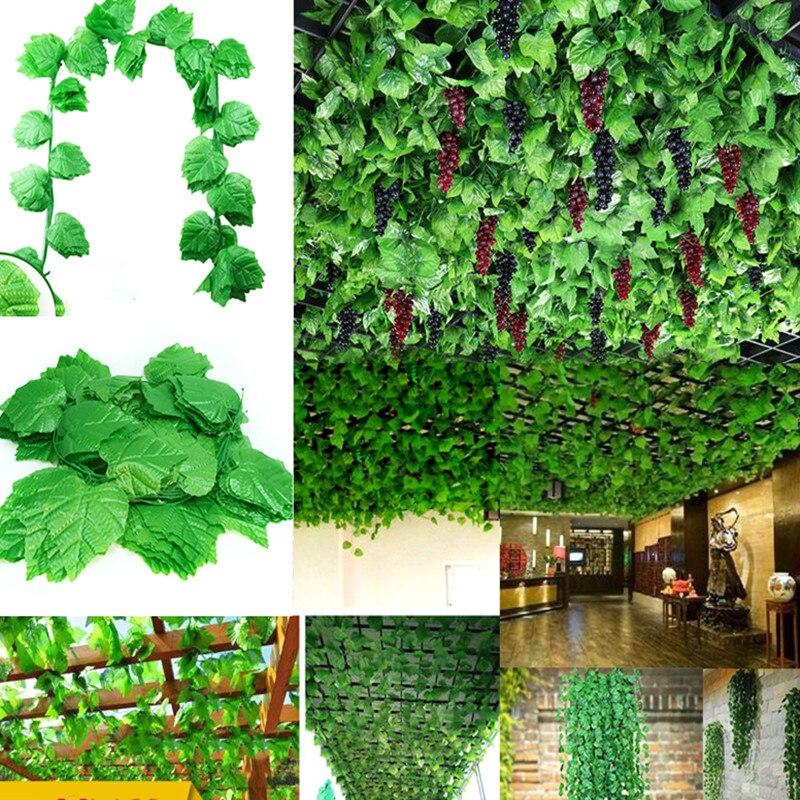 Искусственные зеленые растения цветы винограда из всех стилей, ананас подвесной с узором в виде плюща оставить бегонии, ананас, виноград, по...