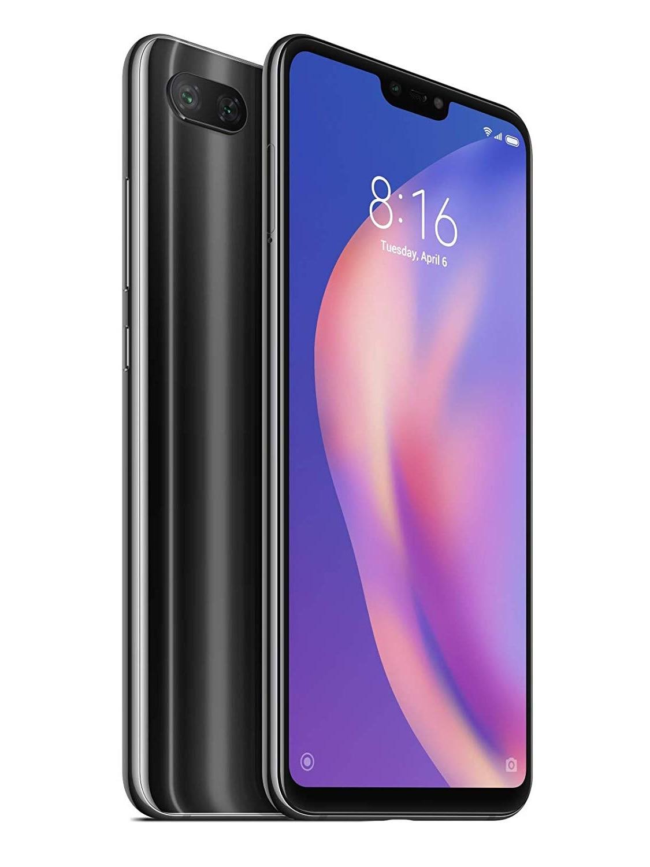 Xiaomi Mi 8 Lite, Global Version, Black Color (Midnight Black), Band 4G/LTE/WiFi, Dual SIM, Memory 64gb Inte
