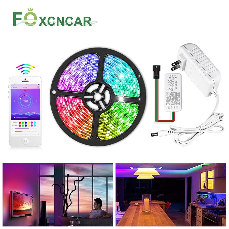 5050 RGB Dream Color WS2811 IC LED Strip Light DC12V Pixels Programmable Addressable Diode Tape TV Backlight Bedroom Decor Lamp