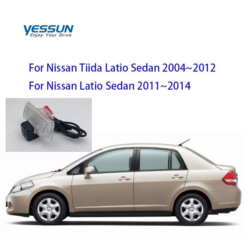 Yessun For Nissan Tiida Latio Sedan 2004~2012  Car CCD LED Backup Reverse Rear View Camera Car Parking Monitor