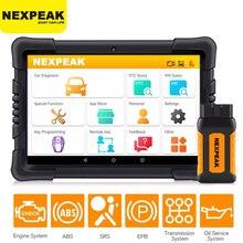 NEXPEAK K1 프로 OBD2 자동차 스캐너 진단 도구 자동 ABS 에어백 SAS 오일 DPF EPB 재설정 ODB2 모든 시스템 자동차 스캐너