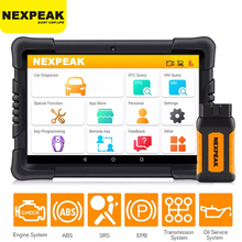 Diagnostic-Tool Airbag Reset Car-Scanner ODB2 ABS OBD2 NEXPEAK Auto All-Systems PRO K1
