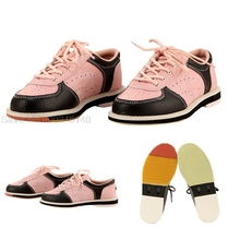 Sports Shoes Bowling Supplies Women Anti-Slip Bowling Sneaker Flat Indoor Training Shoes Ladies Leather Athletic Trainers